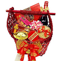 Remarkable Holiday Bounty Gift Basket