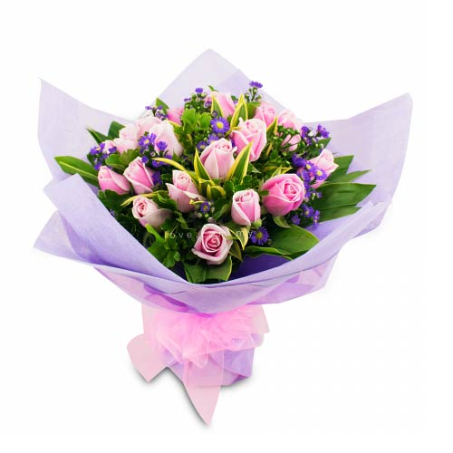 Charming Its Your Day Valentine Bouquet<br/>