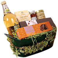 Entertaining Tea N Gourmet Goodies Gift Basket<br/>