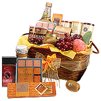 Bewitching Luxury Crystal Gift Basket<br/>