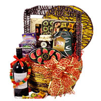 Vibrant Divine Delight Confectionery Gift Basket<br/>