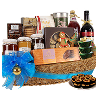 Yummy Surprise Gift Basket with Coffee <br/>