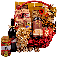 Captivating Premier Selection Wine Gift Basket<br/>