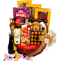 Incredibly Smart Holiday Paradise Gift Basket<br/>