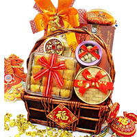 Alluring Treasured Token Gift Basket
