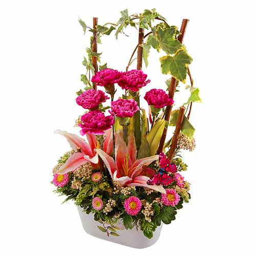 Vibrant Madly in Love Bouquet