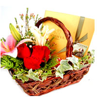 Mouth-Watering Different Flavors Chocolate Basket