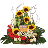 Wholesome Everlasting Love Floral N Godiva Bouquet<br/>