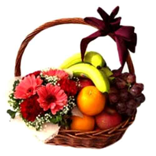Large Fruitful Greetings Gift Basket<br/>