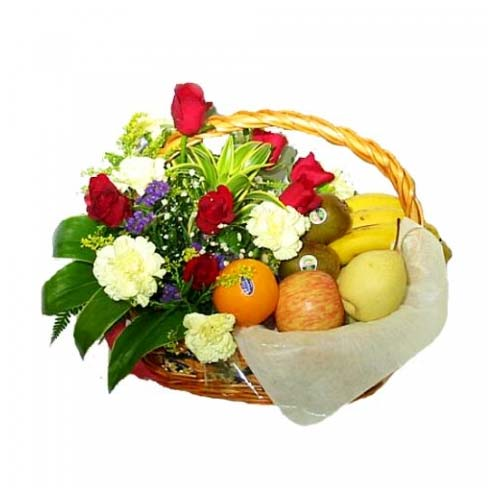 Exotic Sweet Sensations Fruit Basket