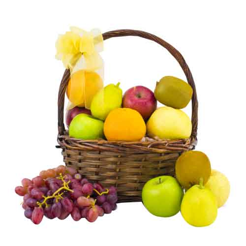 Tropical Come Together Fruit Delight Basket