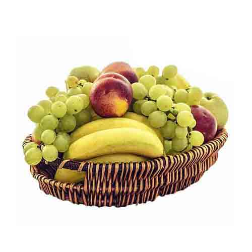 Edible Healthy Living Fruit Basket<br/>
