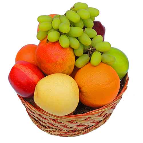Hearty Grand Gathering Fruit Gift Basket