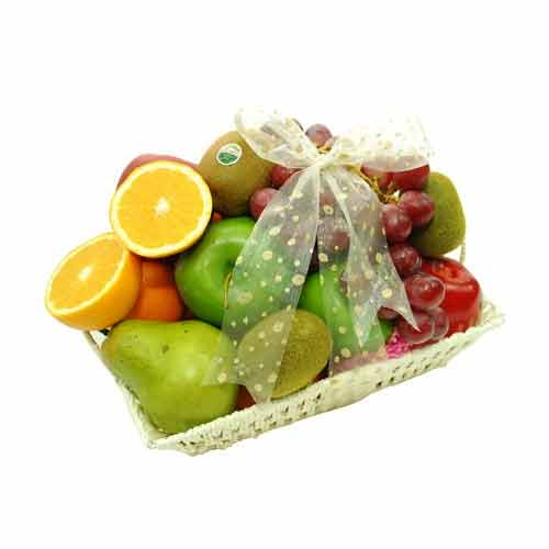 Vitamin-Rich Simply Fresh Assorted Fruits Basket