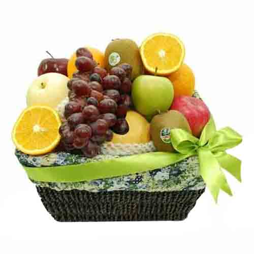 Lasting Seasons Favorite Fruit Delight Basket