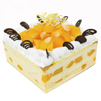 Beautiful Gateau with Taste of Peach N Vanilla