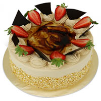 Delicious Sponge Cake with Hint of Coffee N Banana<br/>