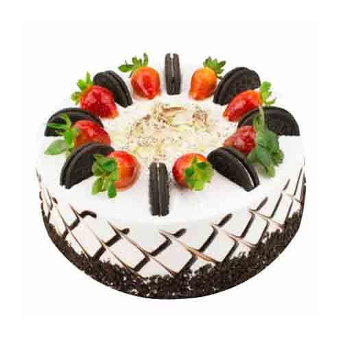 Bakery-Fresh Oreo Chiffon Cream Cake for Special One