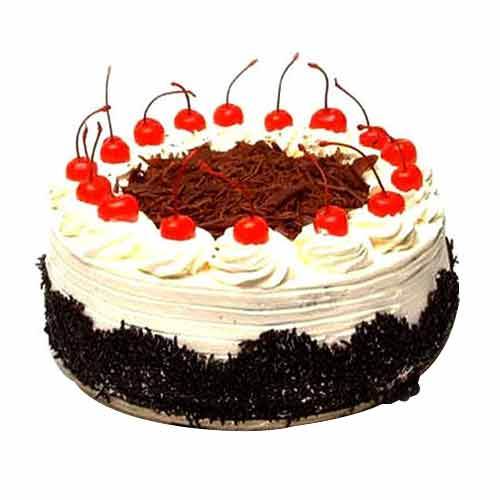 Voluptuous Black Forest Dessert Cake