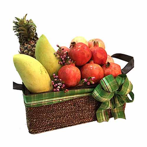 Delectable Mixed Fruits Sensation Hamper