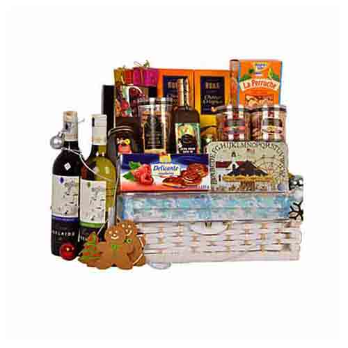 Joyful Royal Hamper of Gourmet Treats