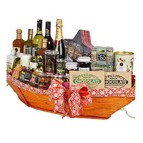 Remarkable Festive Treat Hamper of Sweet Decadence