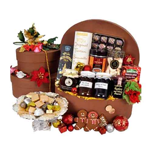 One-of-a-Kind Hamper Loaded with Treats