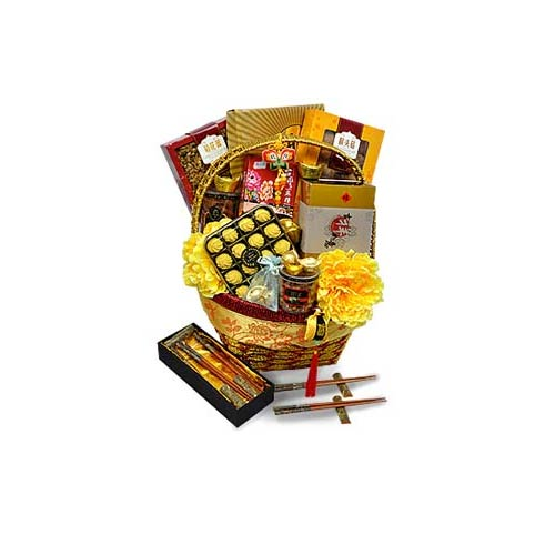Crafty Fine Dining Hamper of Goodies