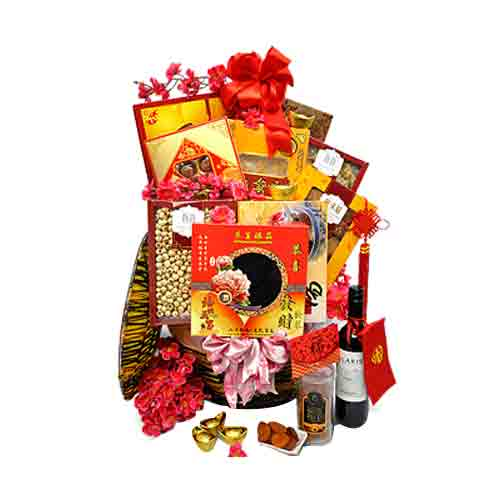 Artistic Instant Platter Gift Basket of Assortments
