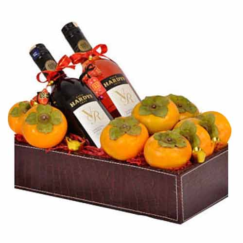 Joyful Duo Celebration of Wine N Persimmons
