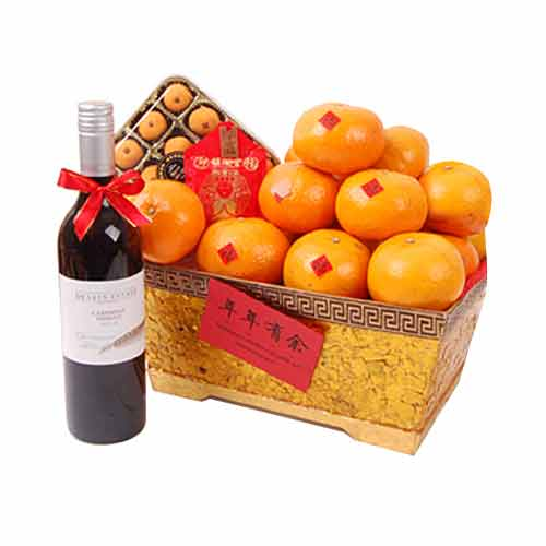 Sweet The Abundant Harvest Fruit Hamper