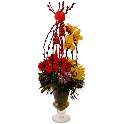 Graceful Fall Fantasy Fiesta Assorted Bouquet