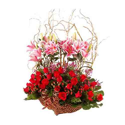 Blossoming Royal Floral Gift Hamper
