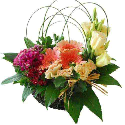 Dreamy Pure passion Bouquet of Variant Flowers
