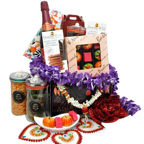 Blissful Sweet N Savory Deepawali Hamper