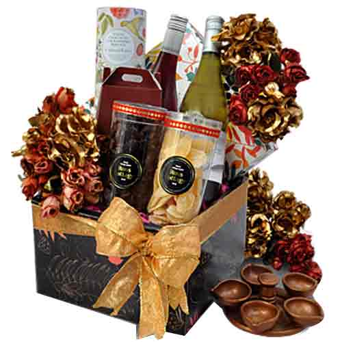 Gentle Sweet Decadence Deepawali Hamper of Goodies