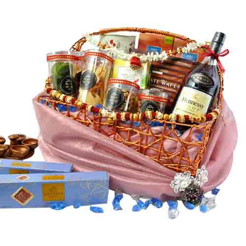 Attractive Happy Deepawali Savory Gift Hamper