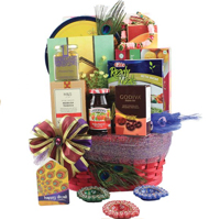 Joyful Ultimate Diwali Gift Basket for Foodies