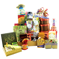 Angelic Deepawali Sparkle Food N More Gift Hamper
