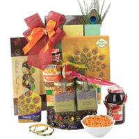 Exciting Diwali Tradition Fruits N Gourmet Gift Hamper