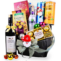 Fabulous Taste of Tradition Wine N Gourmet Gift Basket