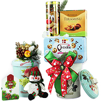 Delicious Gourmet Hamper for Grand Feast