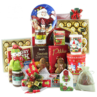 Exciting Gourmet Gift hamper for Joyful Christmas