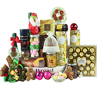 Santas Premium Gourmet Hamper for Christmas