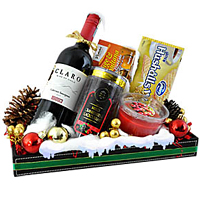 Exquisite Gourmet Hamper for Christmas