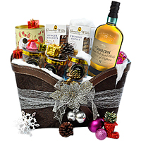 Soft Textured Malt with Assorted Snacks Hamper