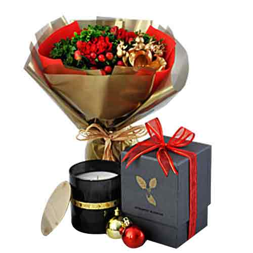 Pampering Selection of Flowers N Candles