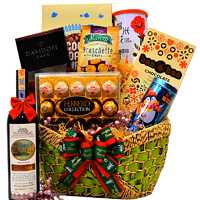 Chocolate N Cookies Adorable Hamper