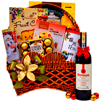 Enticing Gourmet Hamper For X-Mas
