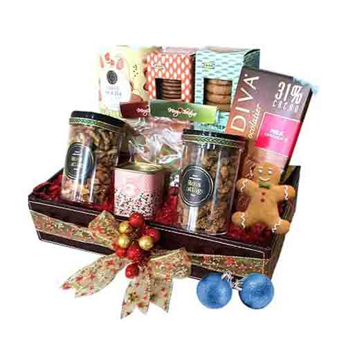 Golden Moments Gift Hamper of Goodies